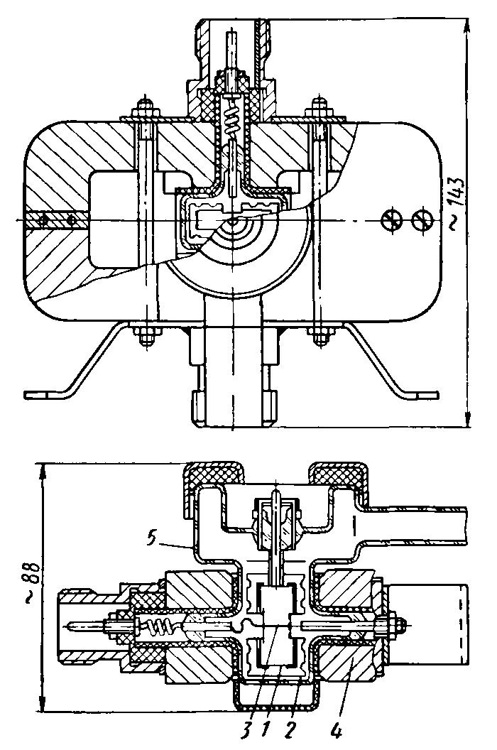 Схема датчика ММ-14С: 1